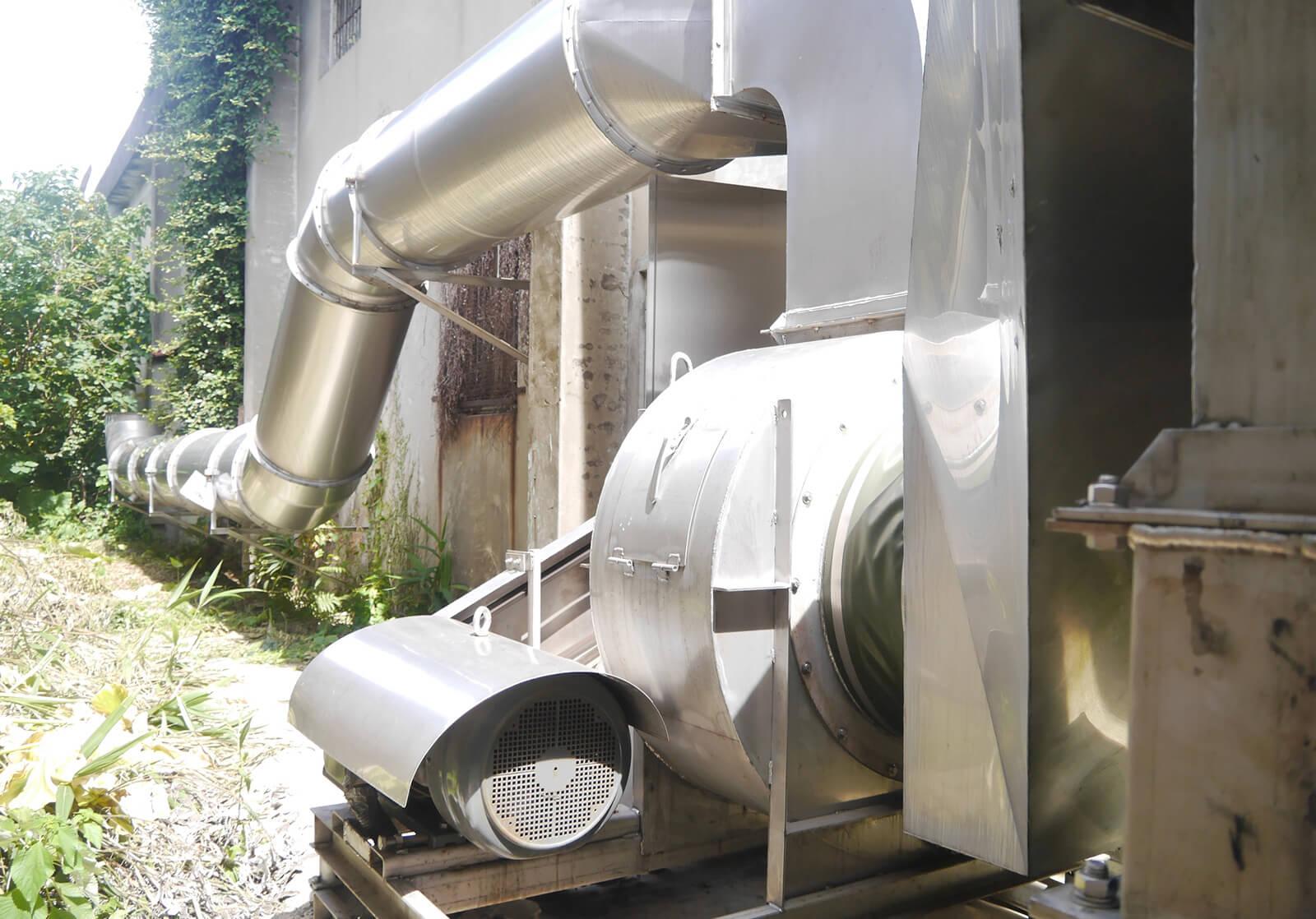 保技鋁業致力於廢棄回收過濾,致力於建構安全、健康的工作環境